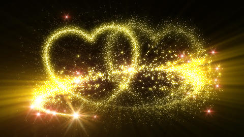 Heart Glitter 2 D3 Animation