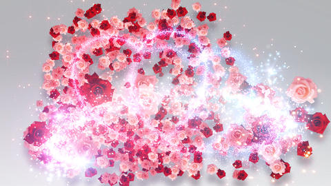 Heart Glitter 2 Rose CF4 Animation