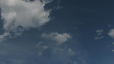 Time Lapse Clouds 5 Stock Video Footage