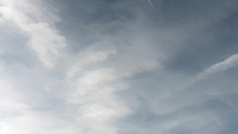Time Lapse Clouds 7 Stock Video Footage