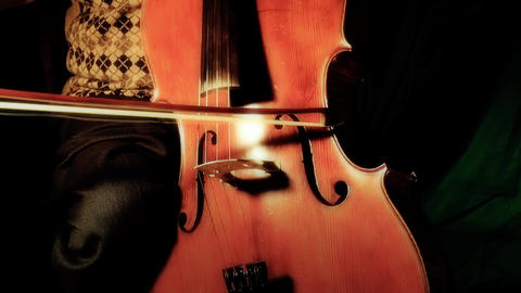 Cello 12 ARTCOLORED Stock Video Footage