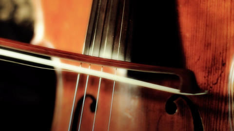 Cello 14 ARTCOLORED Stock Video Footage