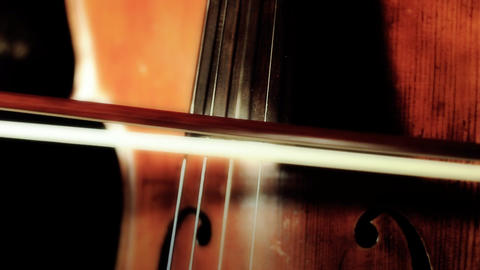 Cello 18 ARTCOLORED Stock Video Footage