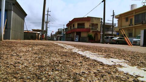 Japanese Rural Street Stock Video Footage
