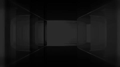 Circular Glass Maze Escape Stock Video Footage