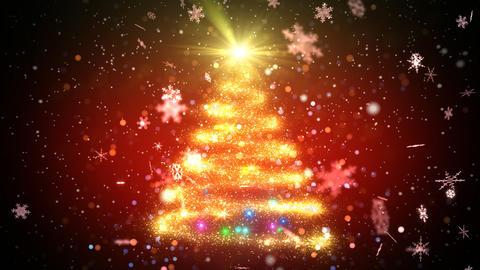 Christmas Tree Glitter Ac2 Stock Video Footage