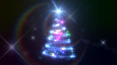 Christmas Tree Glitter Acb1 Animation