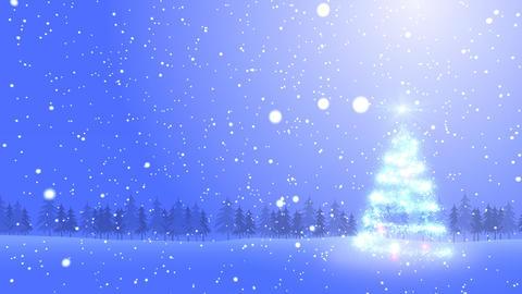 Christmas Tree Glitter Bs2 CG動画