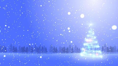 Christmas Tree Glitter Bs2 Stock Video Footage