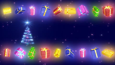 Christmas Tree Glitter Bs4 Animation
