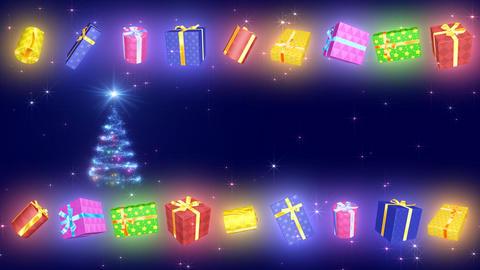Christmas Tree Glitter Bs4 Stock Video Footage