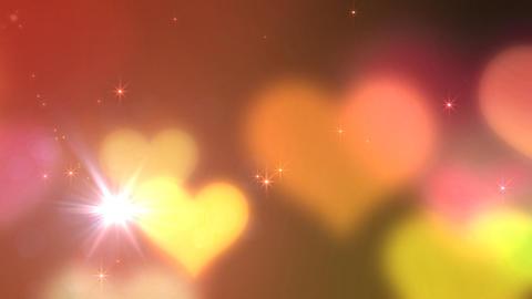 Heart Glitter 2 J1 Stock Video Footage