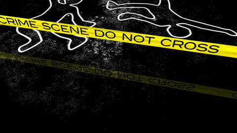 CrimeScene 04 Stock Video Footage
