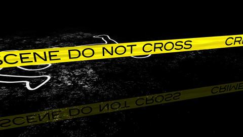 CrimeScene 04 Stock Video Footage