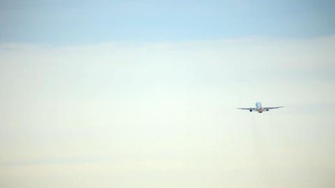 Take off. Climb Stock Video Footage