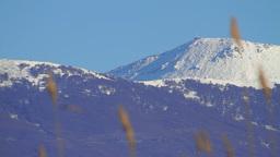 Mountain Peak Stock Video Footage