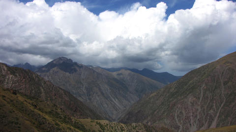 Mountain-landscape-5 Stock Video Footage