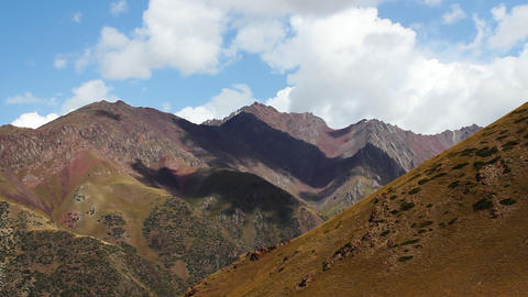 Mountain-landscape-21 Stock Video Footage