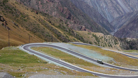 Mountain-road-10 Stock Video Footage