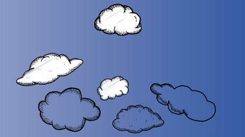 Cloud computing animation Animation
