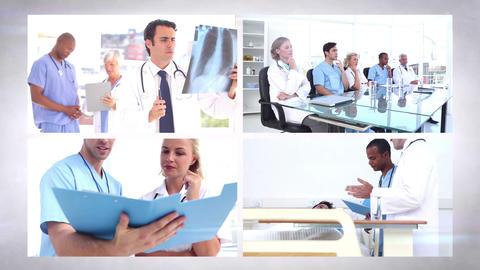 Medical team montage Animation