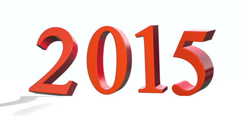 New Year 2015 stock footage