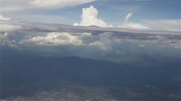 Flying over Clouds in Mexico 10 Footage