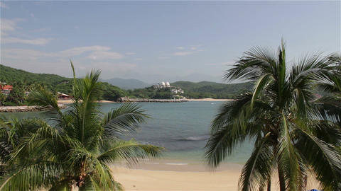 Tropical Paradise in Oaxaca Mexico 5 Footage