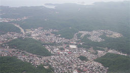 Flying over South Western Mexico Oaxaca Footage