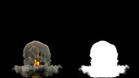 Raging Fire and Explosion with Matte v 2 1 Animation