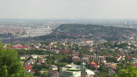 4 K Budapest Hungary Aerial View 21 Footage