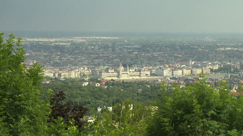 4 K Budapest Hungary Aerial View 26 Footage