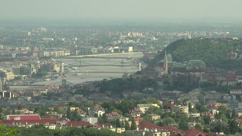 4 K Budapest Hungary Aerial View 27 Footage