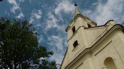 Old European Village Roman Catholic Church 5 Footage