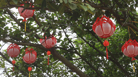 lantern in traditional festival Footage