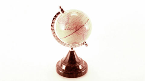 rotating globe Stock Video Footage