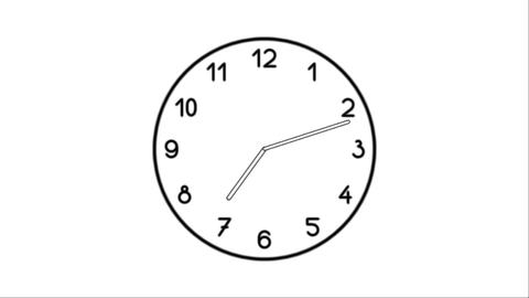 Clock-09C Stock Video Footage
