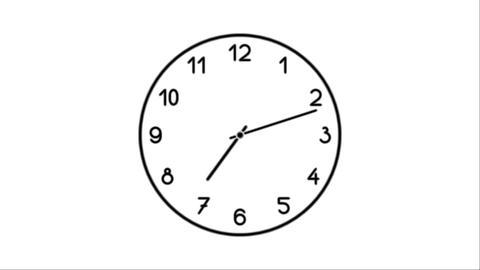 Clock-11C Stock Video Footage