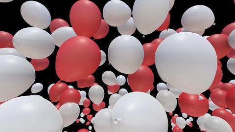 Balloon 2 Ab B Stock Video Footage