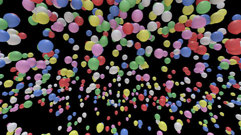 Balloon Ab B Stock Video Footage