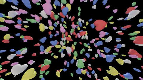 Balloon H Cb B Stock Video Footage