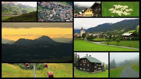Alps Splitscreen 02 Footage