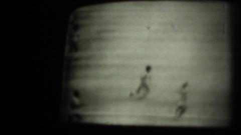 1974 WC Brazil Zaire Soccer Match Stock Video Footage