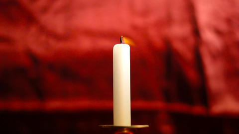 Candle 04 Stock Video Footage