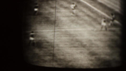 Soccer match Stock Video Footage