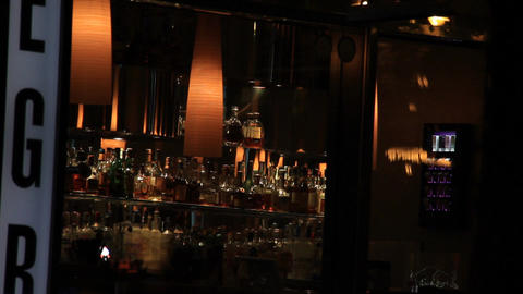 Empty Bar Stock Video Footage