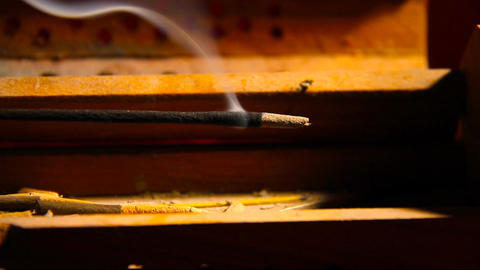 Incense Stick 02 Stock Video Footage