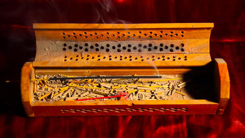 Incense Stick 04 Stock Video Footage
