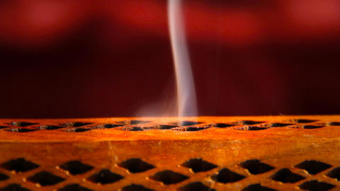 Incense Stick 06 Stock Video Footage