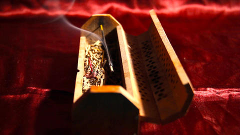 Incense Stick 08 Stock Video Footage